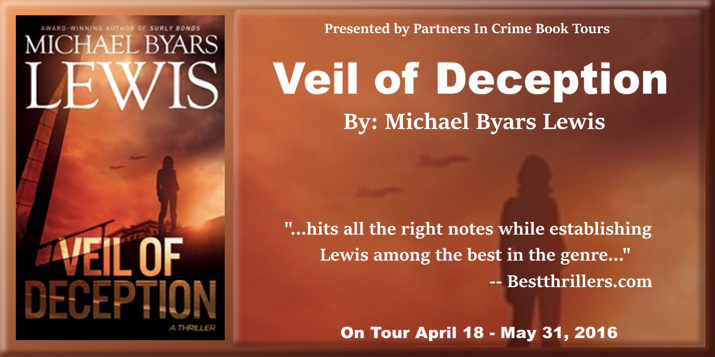 Tour: Veil of Deception by Michael Byars Lewis