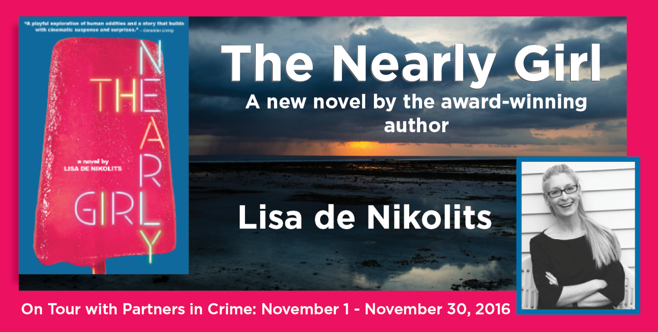 The Nearly Girl by Lisa de Nikolits Tour Banner