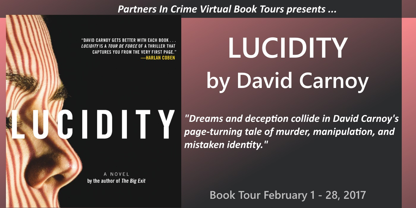 Lucidity by David Carnoy Tour Banner