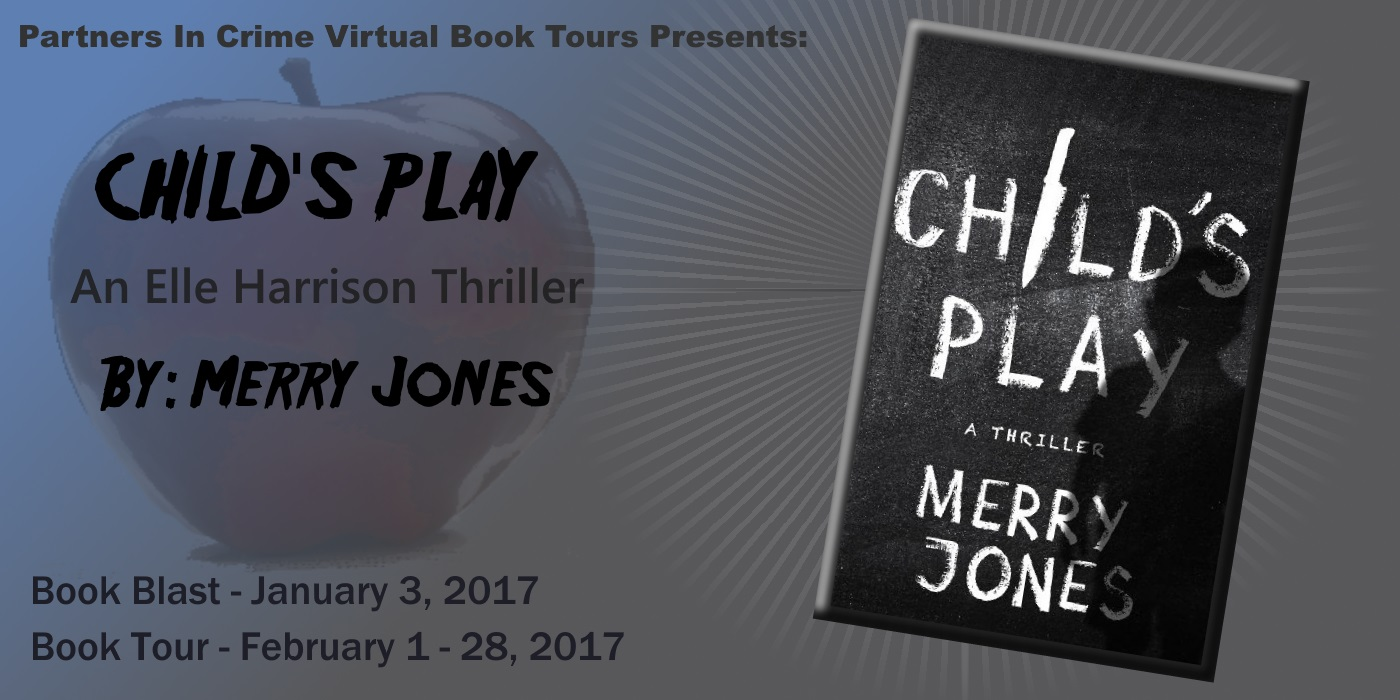 CHILD'S PLAY by Merry Jones, Tour Banner