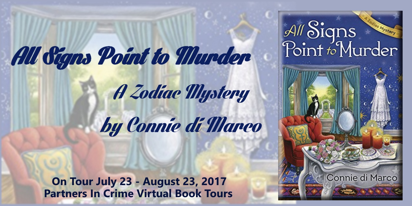 All Signs Point to Murder by Connie di Marco Tour Banner