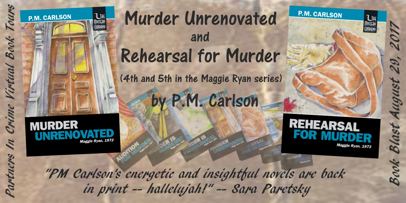 Murder Unrenovated & Rehearsal For Murder PM Carlson Banner