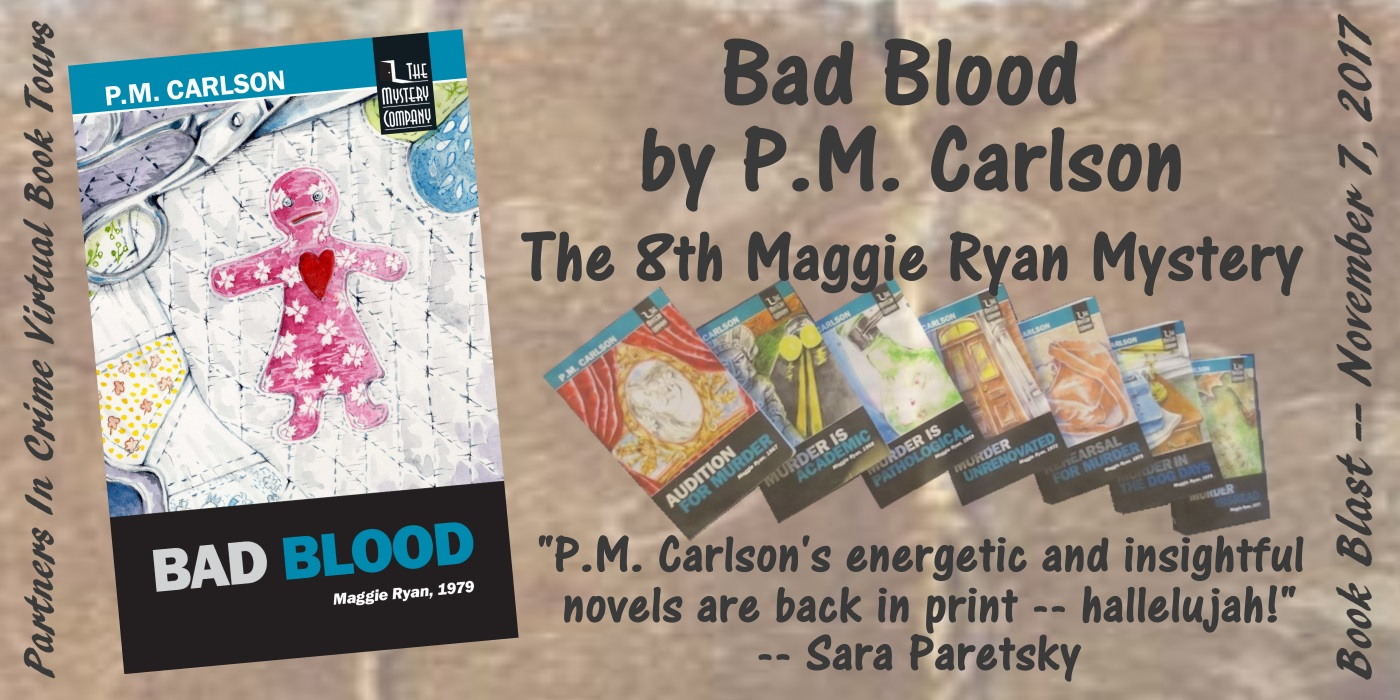 Bad Blood by P.M. Carlson Banner