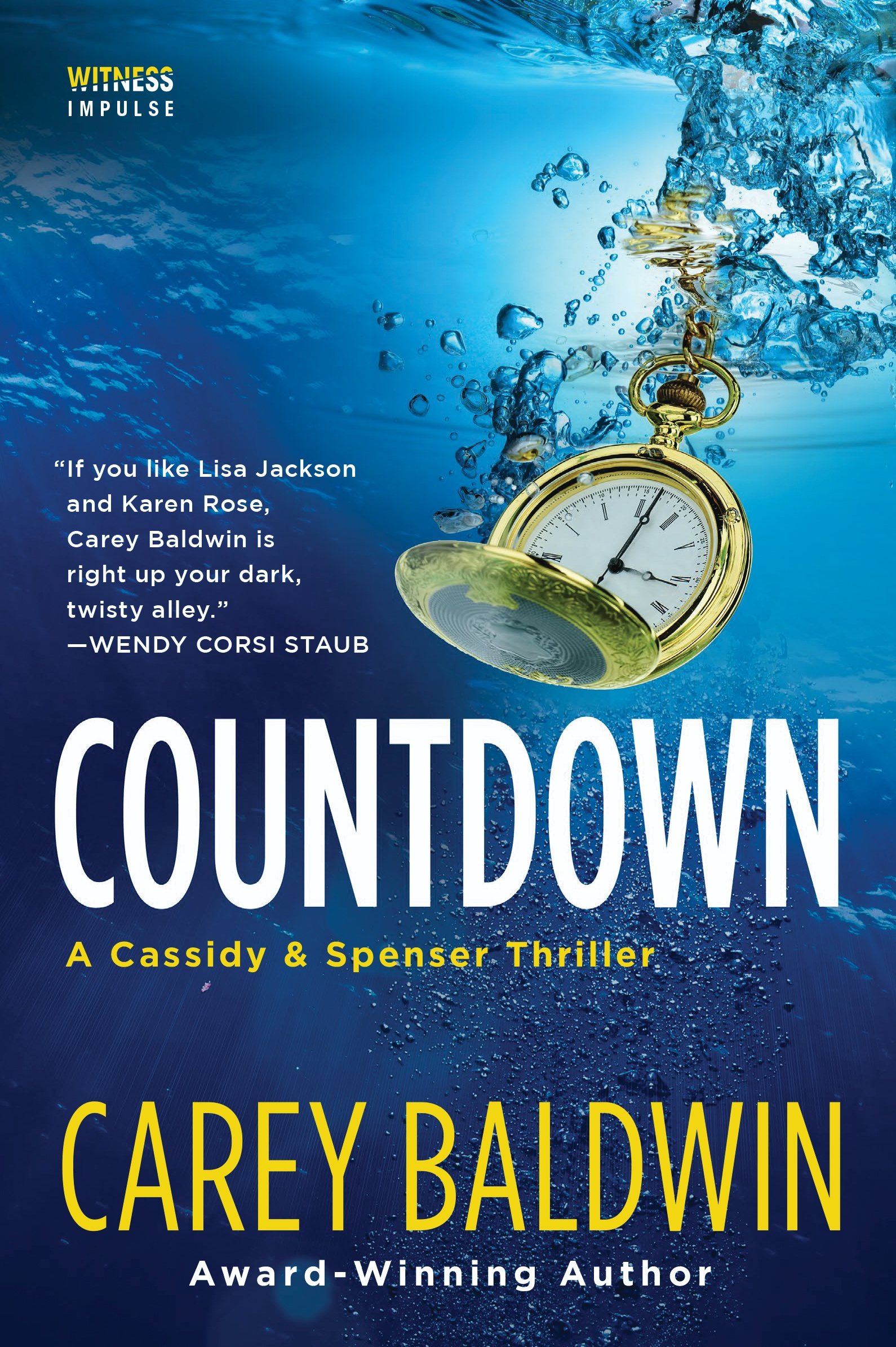 Countdown by Carey Baldwin – Excerpt and Giveaway