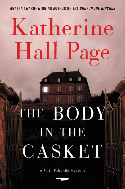 The Body in the Casket by Katherine Hall Page – Excerpt/Showcase and Giveaway