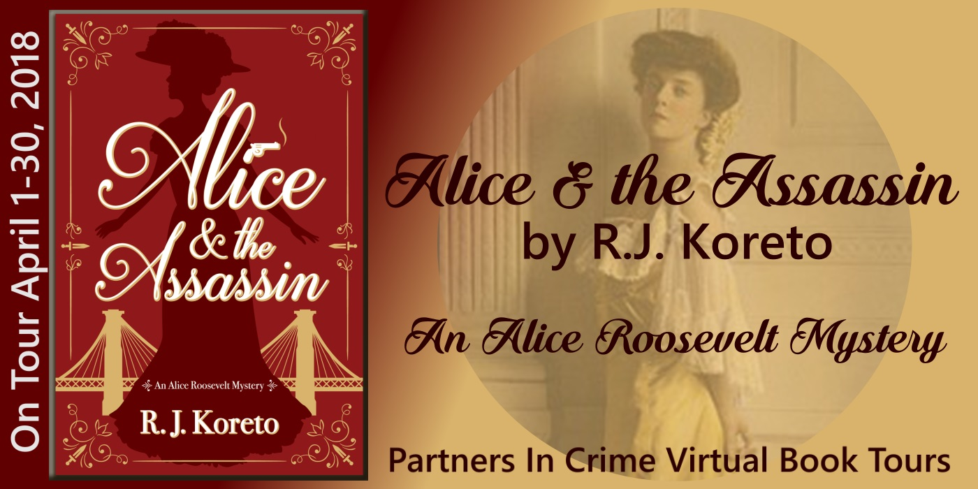 Alice and the Assassin by R.J. Koreto Tour Banner
