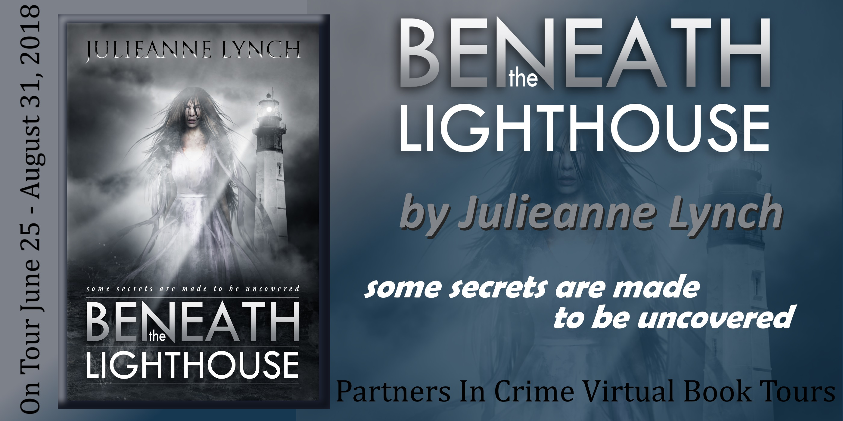 Beneath the Lighthouse by Julieanne Lynch Tour Banner
