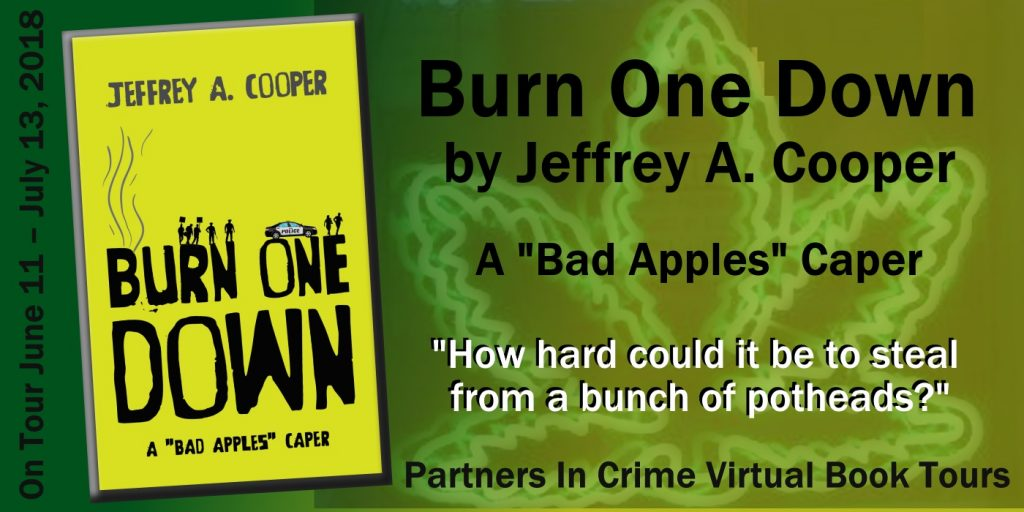 BURN ONE DOWN by Jeffrey A. Cooper   Banner