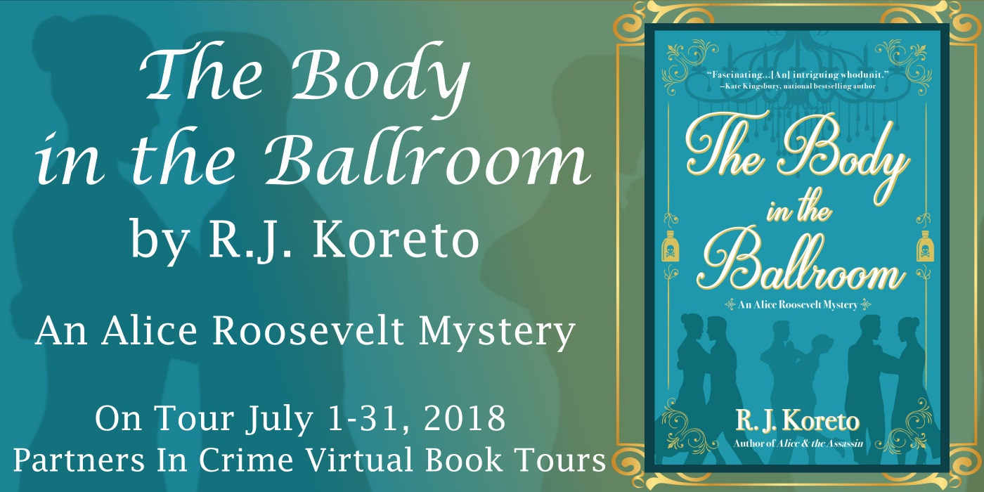 The Body In The Ballroom by R.J. Koreto Banner