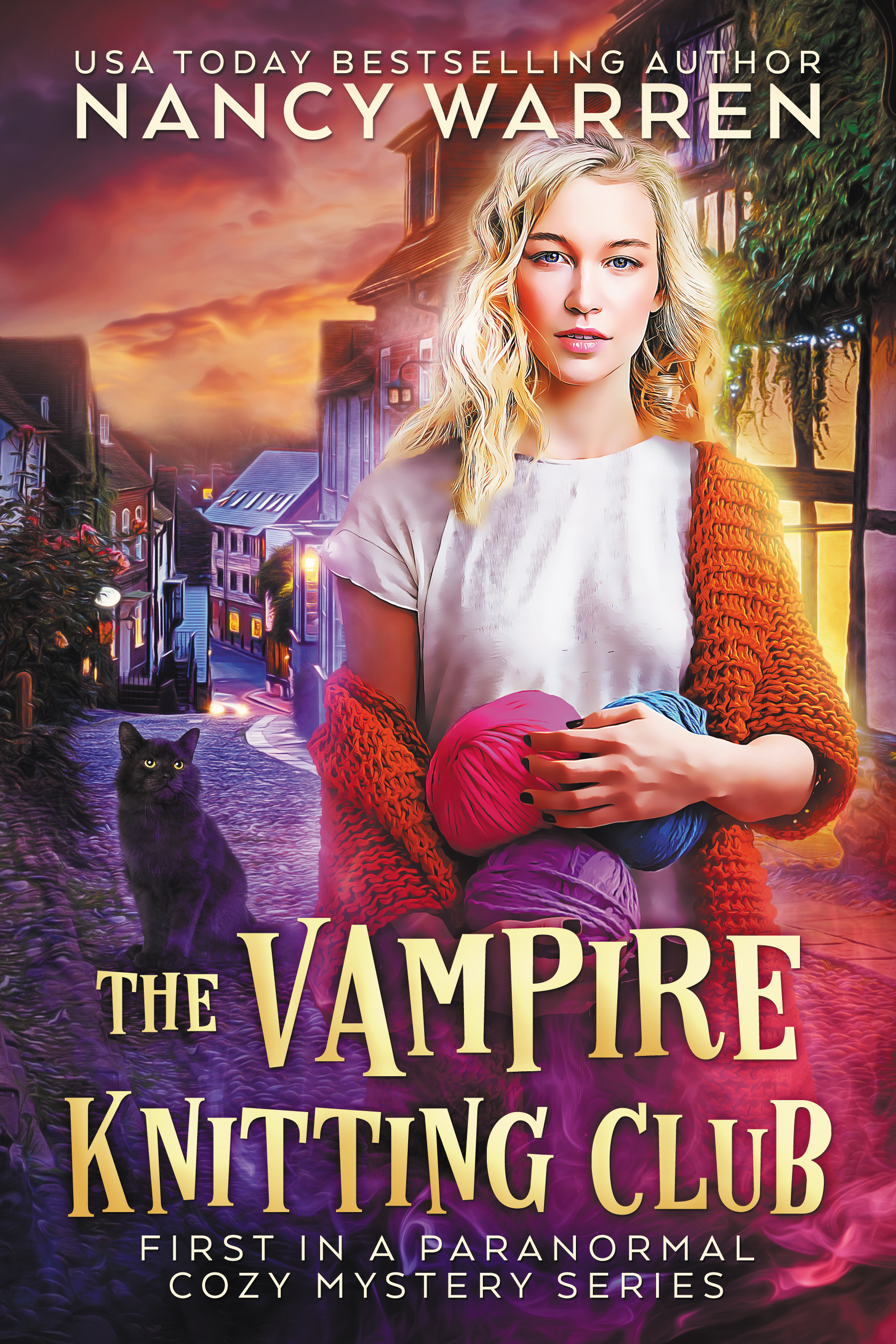 The Vampire Knitting Club by Nancy Warren