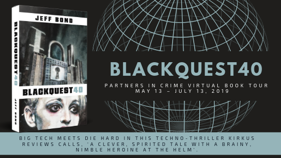 Blackquest 40 by Jeff Bond | Tour Banner