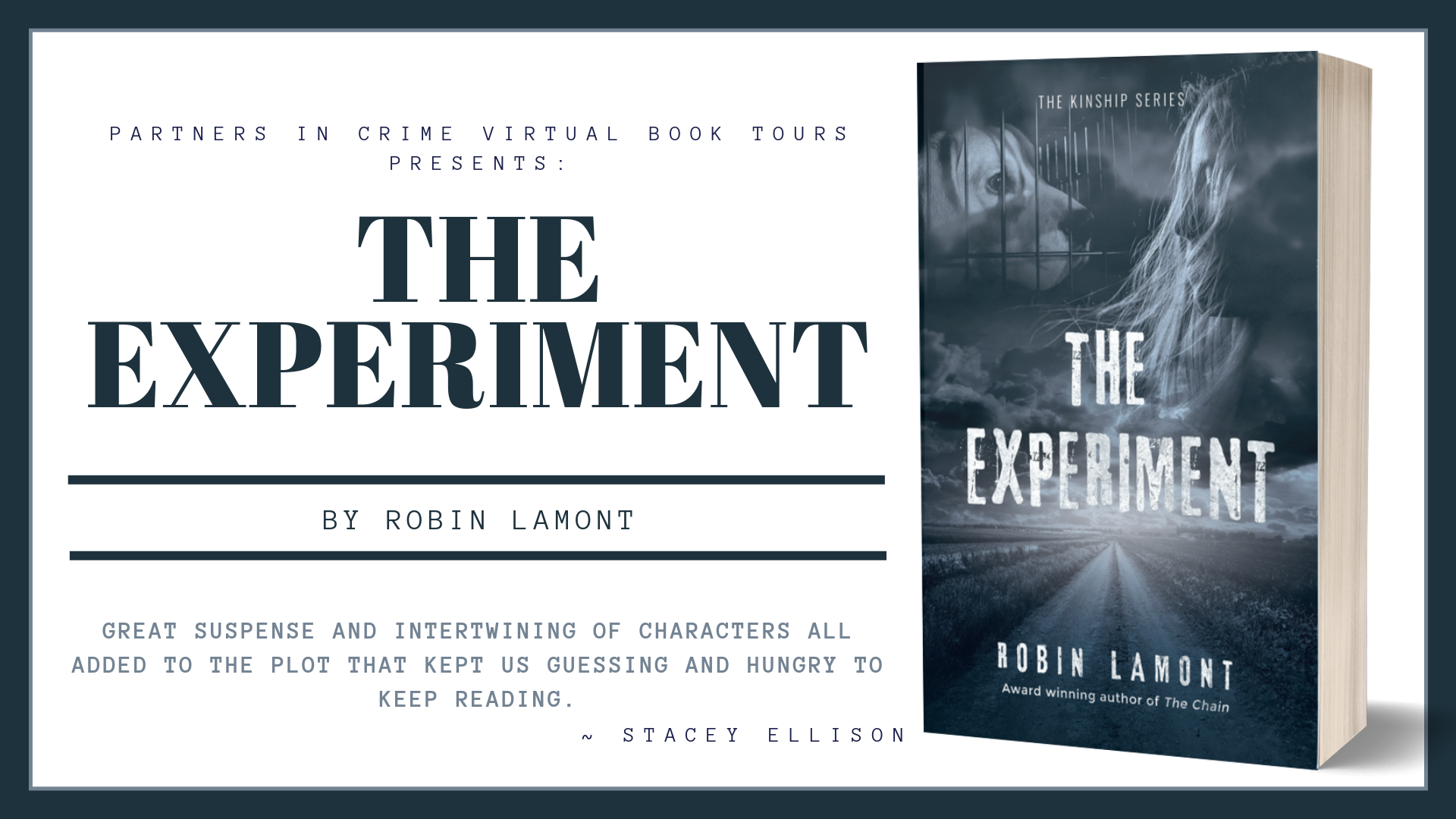 The Experiment by Robin Lamont Banner
