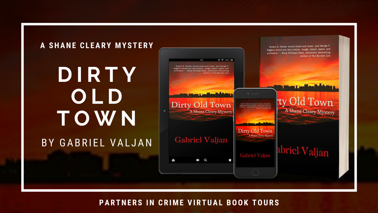 Dirty Old Town by Gabriel Valjan Banner