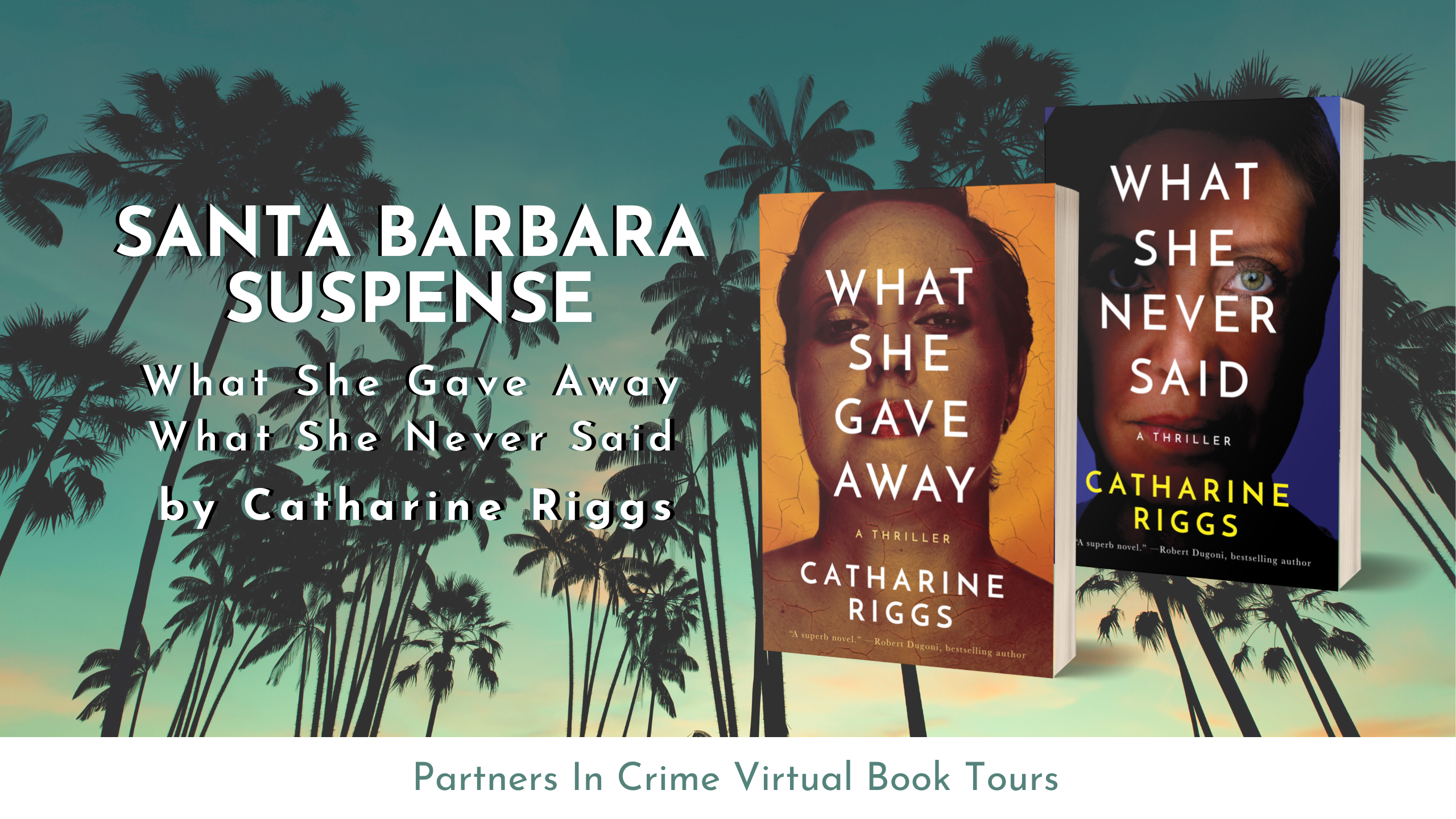 Santa Barbara Suspense Series Tour Banner