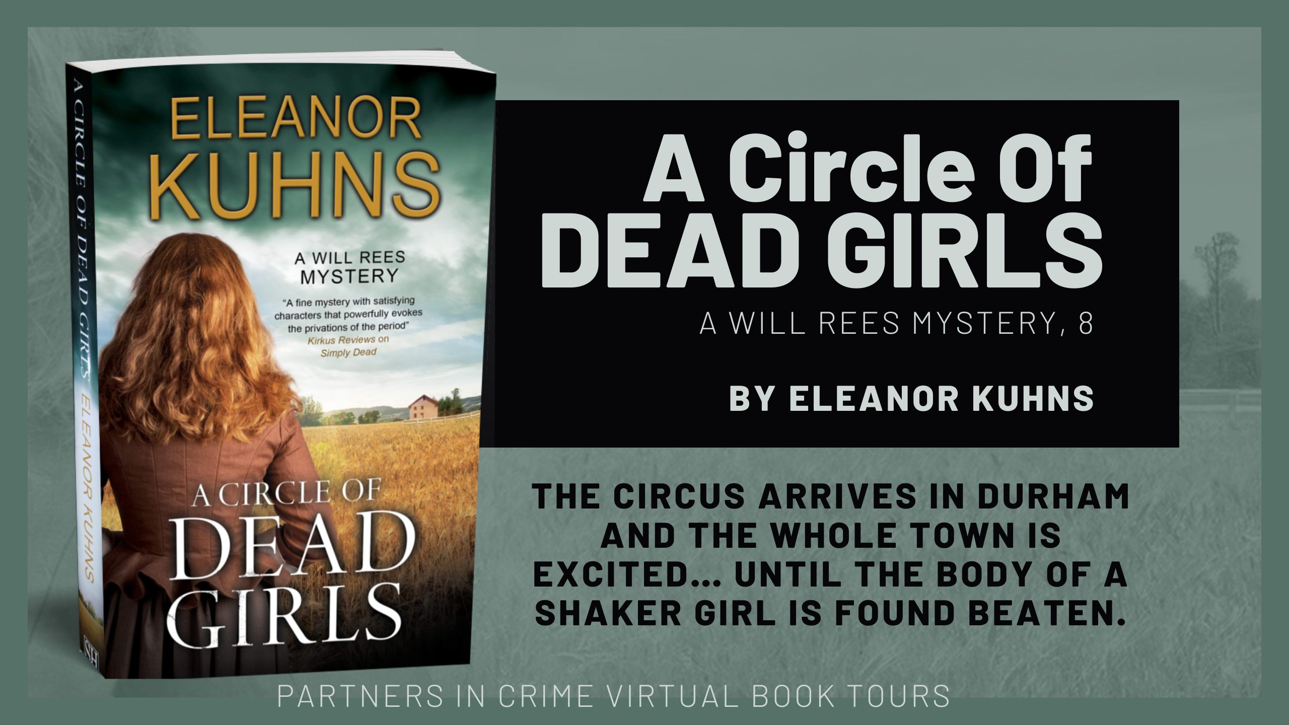 BANNER: A Circle of Dead Girls by Eleanor Kuhns