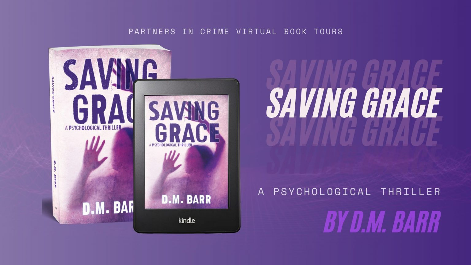 Saving Grace by D.M. Barr Banner