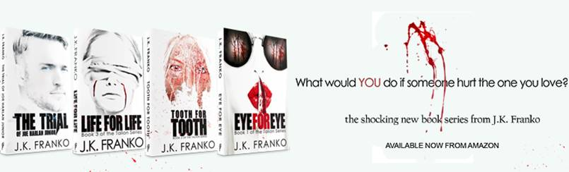 Eye for Eye Trilogy Banner
