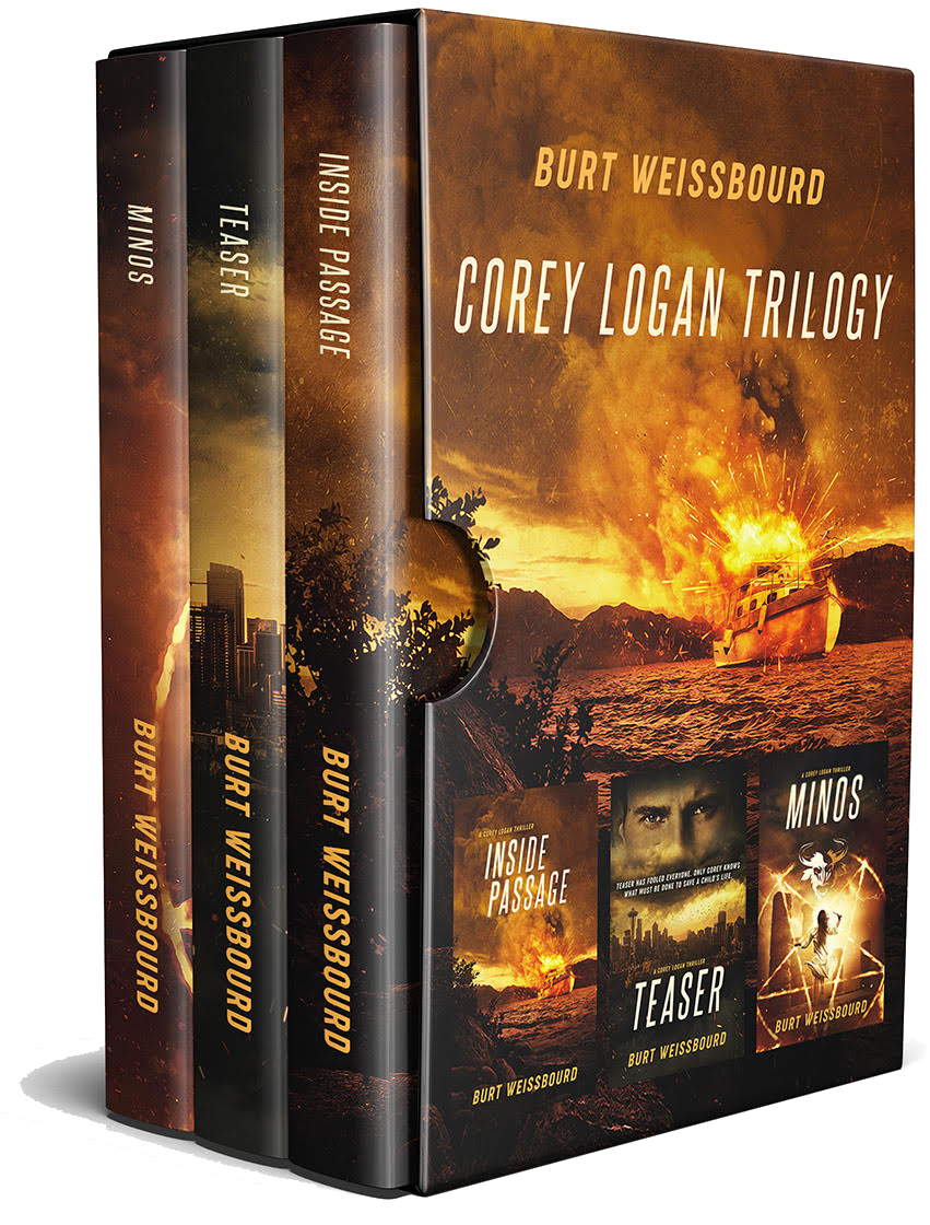 Corey Logan Trilogy by Burt Weissbourd