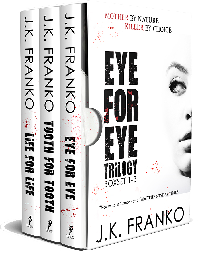 Eye for Eye Trilogy by JK Franko