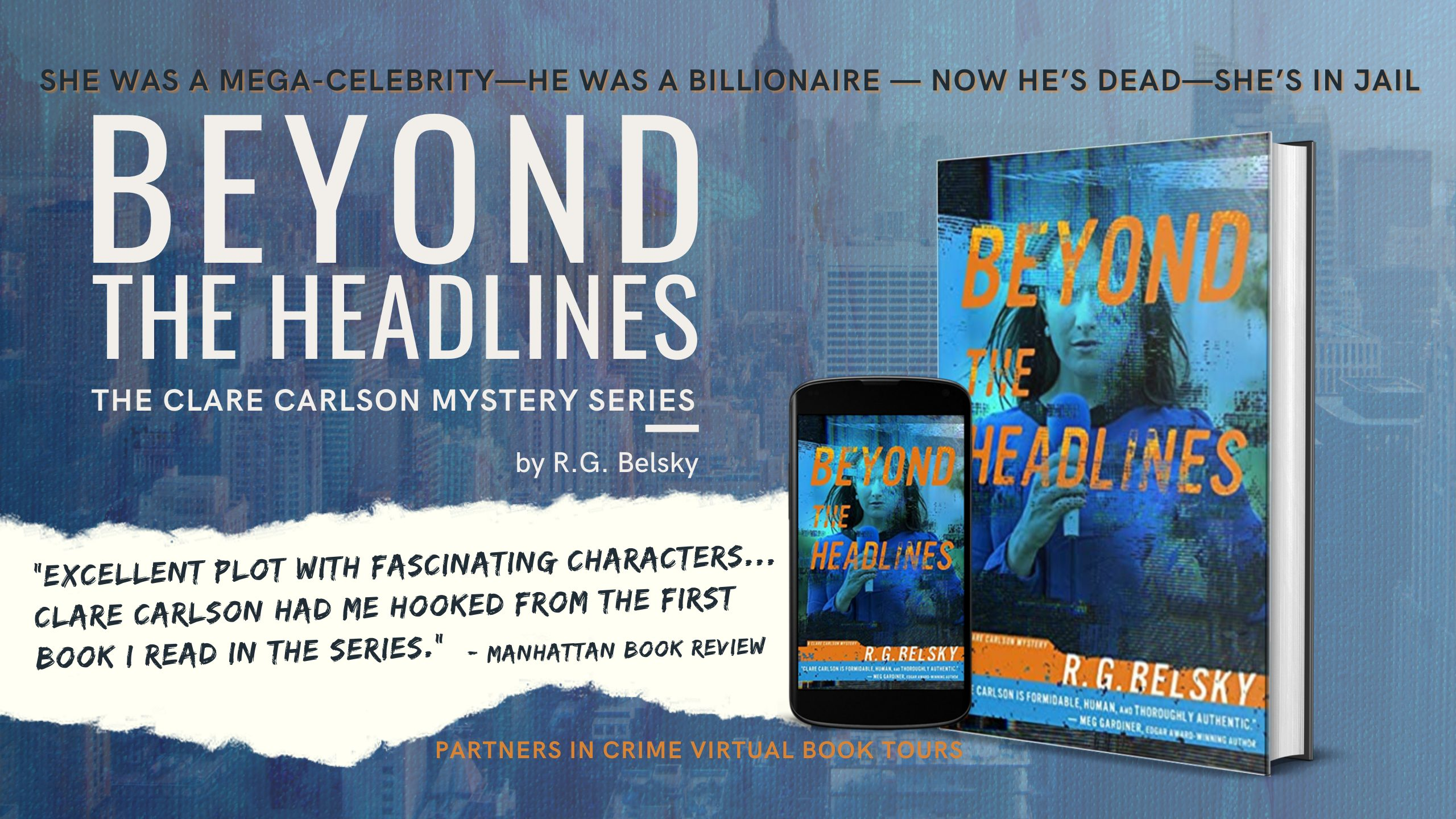 Beyond The Headlines by R.G. Belsky Banner