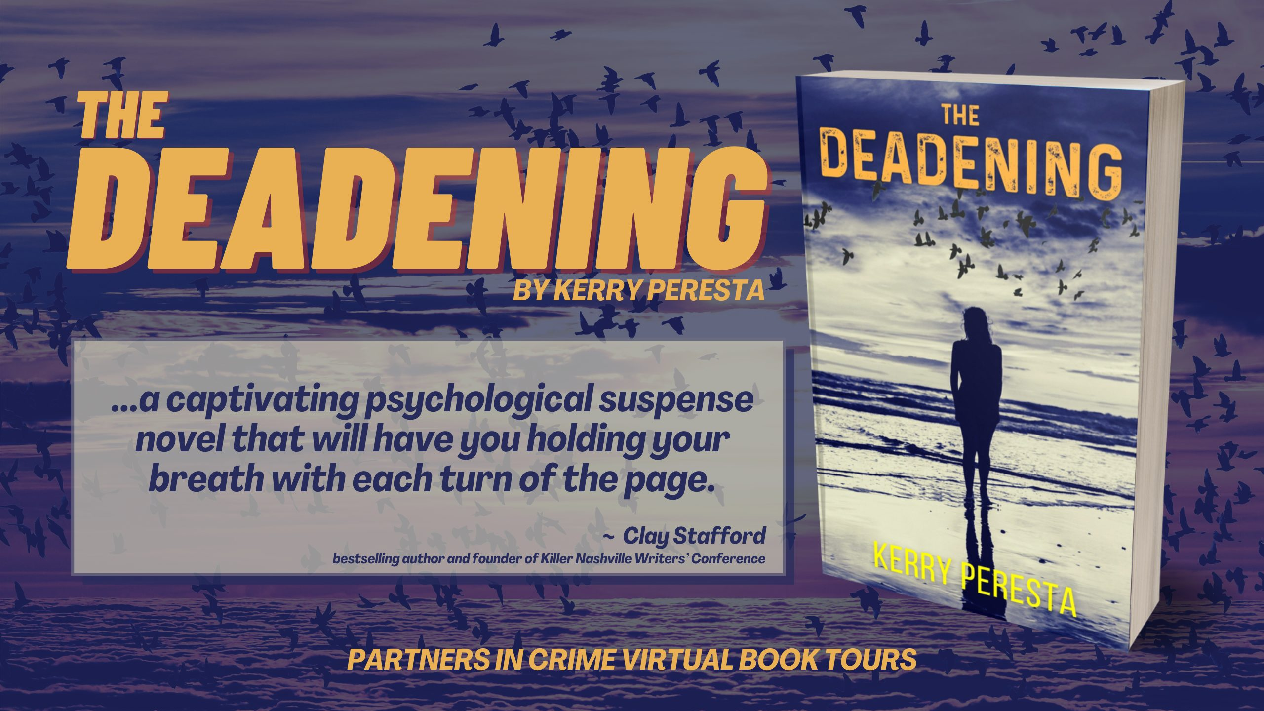 THE DEADENING by Kerry Peresta Tour Banner