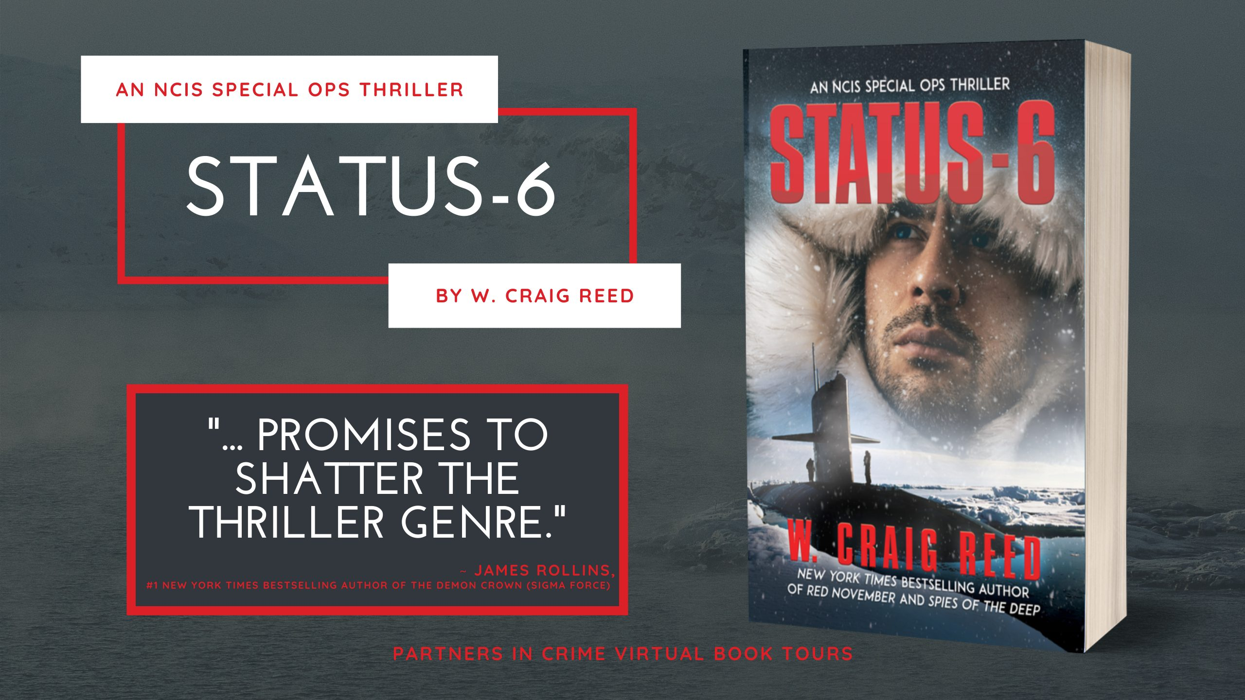 Status-6 by W. Craig Reed Banner