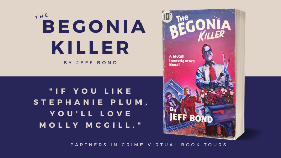 The Begonia Killer by Jeff Bond Tour Banner
