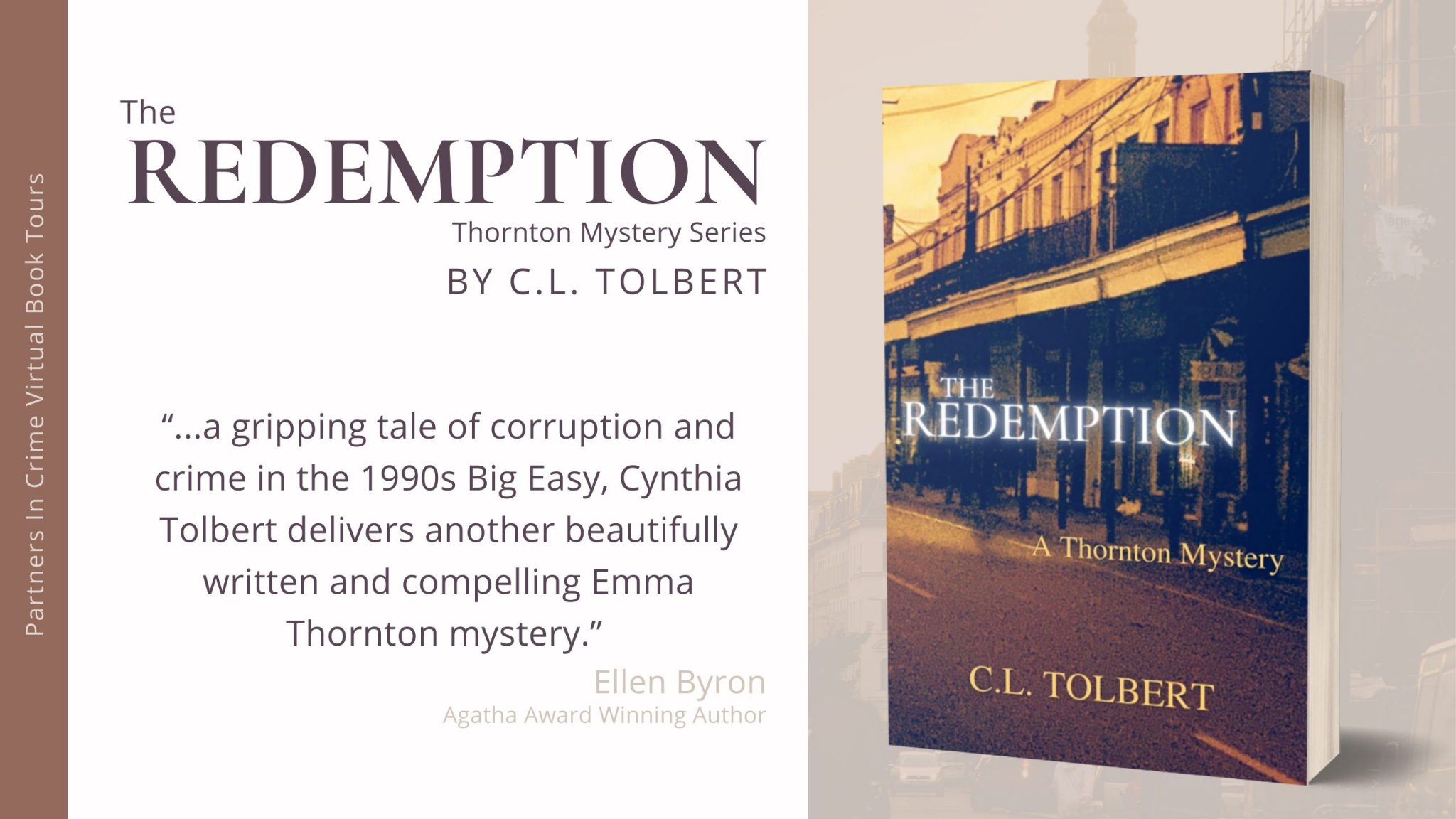 The Redemption by C.L. Tolbert Tour Banner