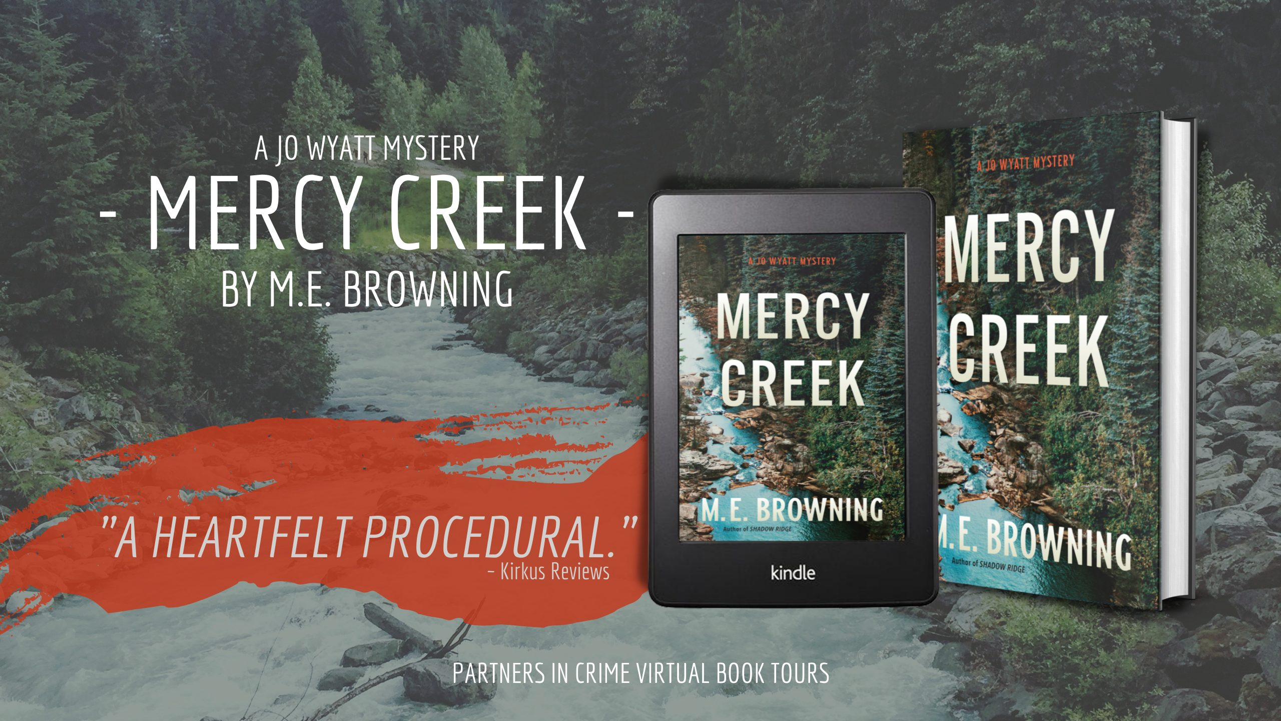 Mercy Creek by M.E. Browning Tour Banner