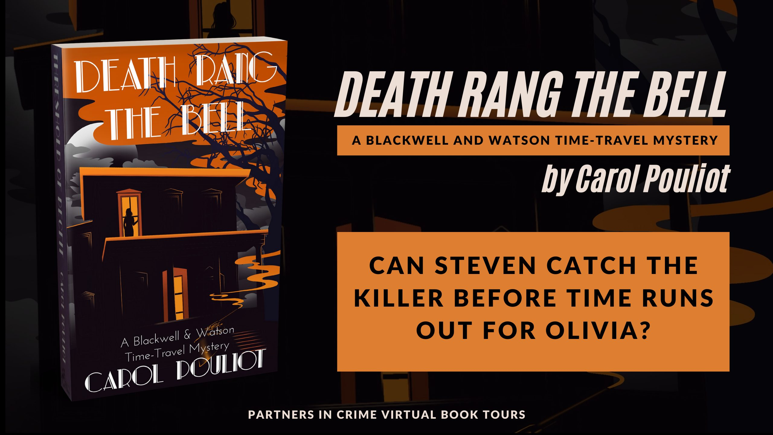 Death Rang The Bell by Carol Pouliot Banner