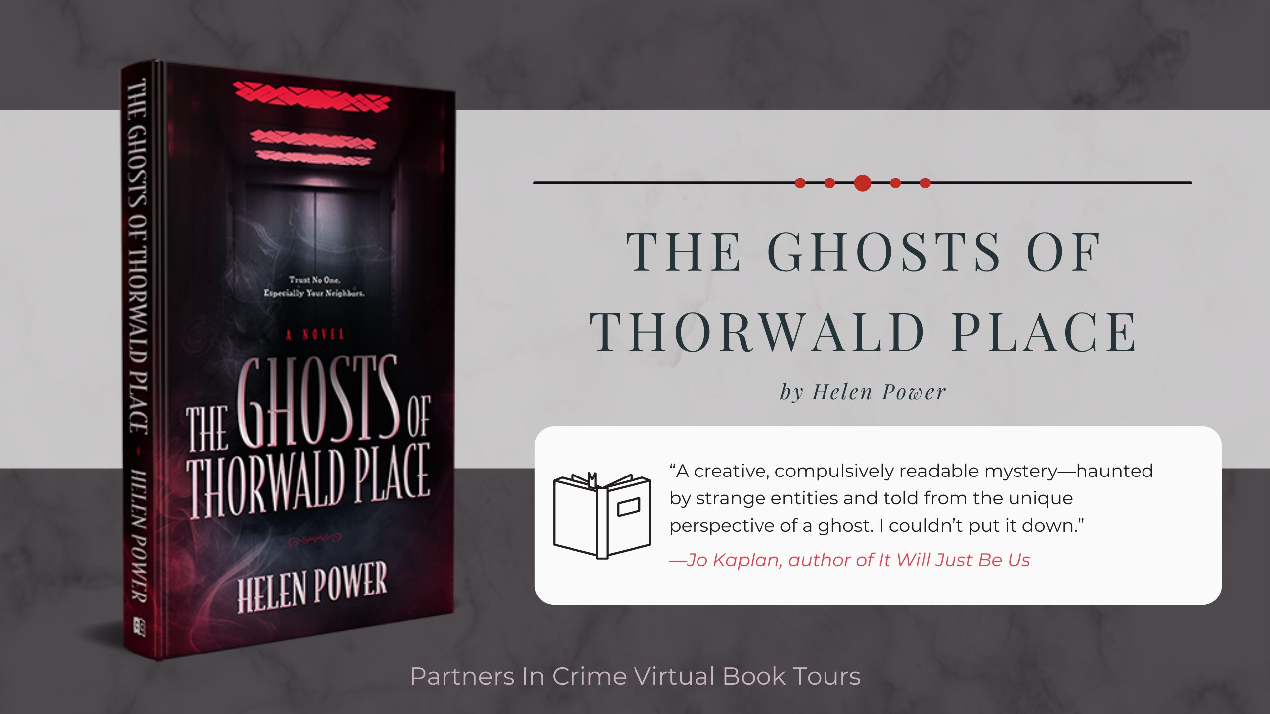 The Ghosts of Thorwald Place by Helen Power Banner